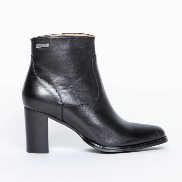 BOTTINES CUIR A TALON AMBRINE